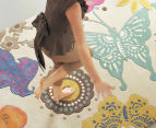 Brink & Campman 240x170cm Butterfly Hand Tufted Rug - Multi 1