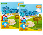 2 x Little Quacker Banana Flavour Rice Biscuits 40g 1