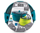 Sea To Summit X Set 33 Pot & Kettle - Blue/Green 1