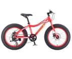 """Progear Kids' 20""""/50cm Chunky Fat Bike - Neon Red 1"""
