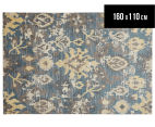 Emerald City 160x110cm Sierra Digital Print Soft Acrylic Rug - Yellow 1