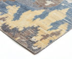 Emerald City 160x110cm Sierra Digital Print Soft Acrylic Rug - Yellow 2