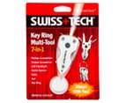 Swiss Tech Key Ring Multi-Tool - Silver 5