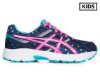 ASICS Grade School Kids' GEL-Contend 3 GS Shoe - Indigo Blue/Pink Glow/Aquarium 1