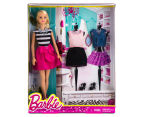 Barbie Doll Fashion Blitz Playset - White/Black 1
