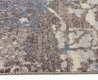 Emerald City 220x150cm Himalaya Digital Print Soft Acrylic Rug - Grey 3