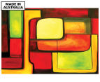 Coordinated 90x59cm Canvas Wall Art 1