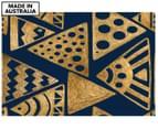 Ethnic Gold 90x59cm Canvas Wall Art 1