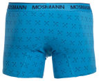 Mosmann Men's Boxer L-Leg Underwear 2-Pack - Blue/Arrows 3