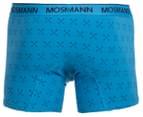 Mosmann Men's Boxer L-Leg Underwear 2-Pack - Blue/Arrows 3