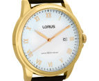 LORUS Men's 43mm Dress Watch - Black 2