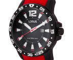 LORUS Men's Sports Watch 45mm - Red/Black 3