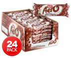 24 x Aero Bars Milk Chocolate 35g 1