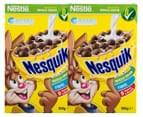 2 x Nestle Nesquik Cereal 350g 1