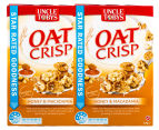 2 x Uncle Tobys Oat Crisp Cereal Honey & Macadamia 475g 1