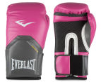 Everlast Pro Style Elite 12oz Training Gloves - Pink 1