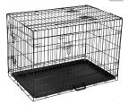 "Metal Collapsible 36""/91cm Dog Cage  1"