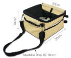 Pet Travel Booster Seat - Beige 2