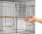 Medium 88cm Pet Bird Cage - Black 3