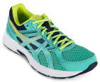 ASICS Women's GEL-Contend 3 Shoe - Cockatoo/Neon Lime/Dark Navy 2
