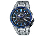 Casio Men's 50mm Edifice Analogue Watch - Black/Blue/Silver 1