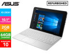 ASUS Transformer Book T100HA Laptop/Tablet REFURB - Silk White 1