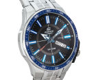 Casio Men's 50mm Edifice Analogue Watch - Black/Blue/Silver 2