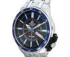 Casio Men's 50mm Edifice Analogue Watch - Black/Blue/Silver 3