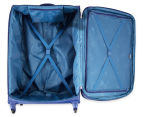 Delsey Lazare 4W 78cm Rollercase - Blue 5