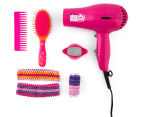 Scunci Girl Hair Dryer Style Set - Pink 2