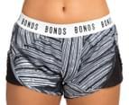 Bonds Women's Active Running Shorts - Tropic Fern 2