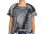 Bonds Women's Active Mesh Tee - Tropic Fern 2