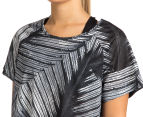Bonds Women's Active Mesh Tee - Tropic Fern 6