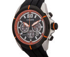 Citizen 44mm Eco-Drive CA410502E Sports Chronograph Watch - Black/Orange 3