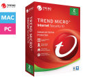 Trend Micro 1-Year 2016 Internet Security 10 Software - 2 Users 1