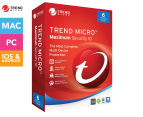 Trend Micro 1-Year 2016 Maximum Security 10 Software - 6 Devices 1