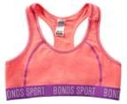 Bonds Girls' Sporty Play Crop Racer - Strawberry/Purple 1