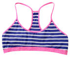 Bonds Girls' Hipster Crop Racer - Purple 1