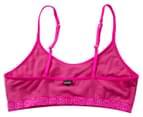 Bonds Girls' Pullover Scoop Crop 2-Pack - Pink/White 3