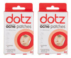2 x Dotz Acne Patches 1