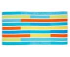 Bambury 75x150cm Jacquard Velour Beach Towel - Stripe 1