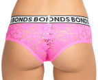 Bonds Women's Hot Shortie - Pink/Black 4