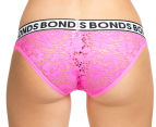 Bonds Women's Bikini Briefs - Pink 4