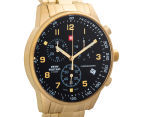 Swiss Military Men's 41mm Chronograph Watch - Gold 2