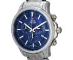 Swiss Military Men's 42mm Chronograph Watch - Blue/Silver 3