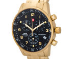 Swiss Military Men's 41mm Chronograph Watch - Gold 3