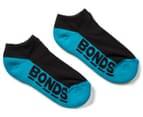 Bonds Kids' Cushioned Sole Low Cut Socks 3-Pack - Multi 2
