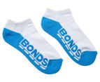 Bonds Kids' Cushioned Sole Low Cut Socks 3-Pack - White 4