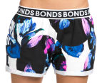 Bonds Women's Short 100 Year - Floral 3