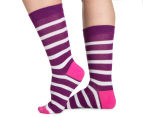 2 x Bonds Women's Fashion Crew Socks 3-Pack - Multi  2